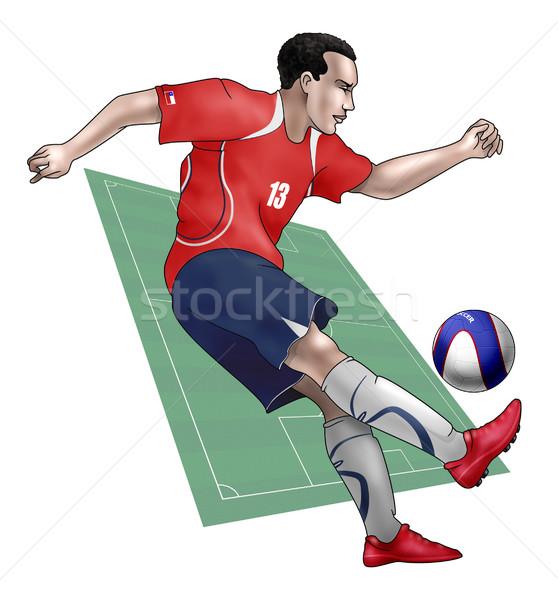 Team Chile Stock photo © fresh_7266481