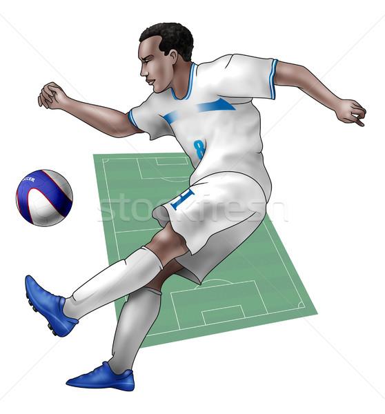 Team Honduras Stock photo © fresh_7266481