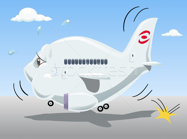 飛行機 疲れ 経済の 危機 多くの 空気 ストックフォト © fresh_7266481