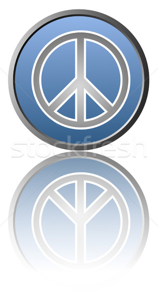 Vrede symbool witte gemakkelijk achtergrond tekening Stockfoto © fresh_7266481