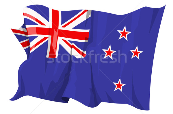 Flag series: New Zealand Stock photo © fresh_7266481