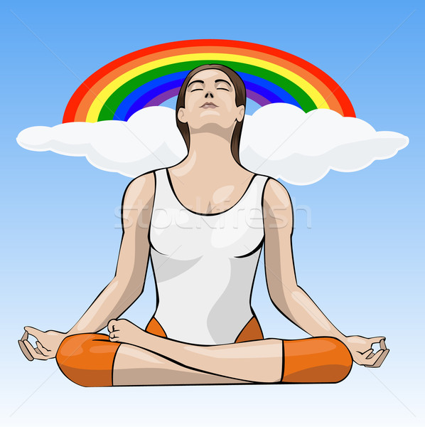 Yoga Stock photo © fresh_7266481