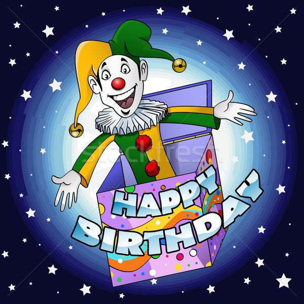 Happy birthday Jester Stock photo © fresh_7266481