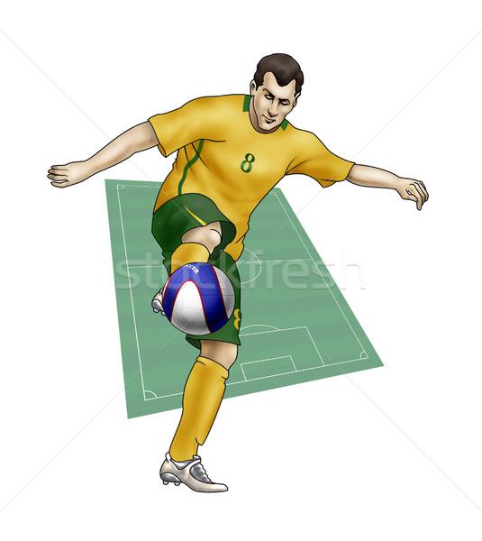 Team Australia Stock photo © fresh_7266481