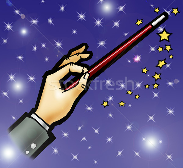 Magic wand Stock photo © fresh_7266481