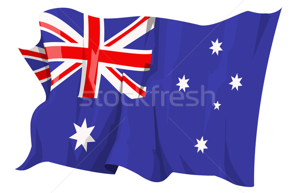 Flag series: Australia Stock photo © fresh_7266481