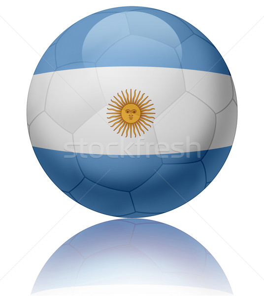 Argentina flag ball Stock photo © fresh_7266481