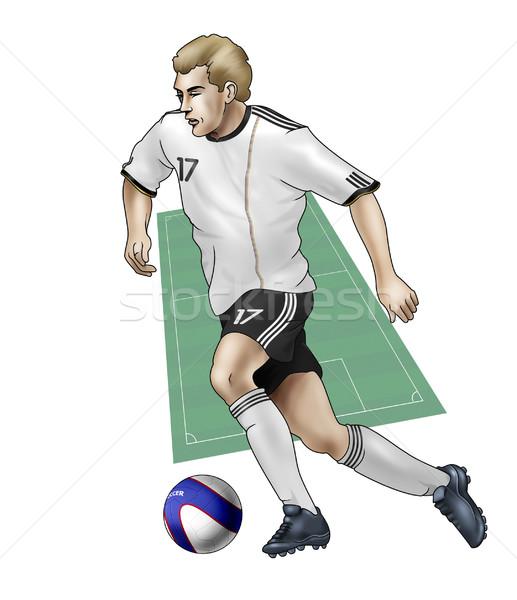 Team Germany Stock photo © fresh_7266481