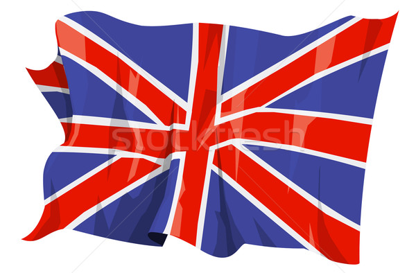 Flag series: United Kingdom Stock photo © fresh_7266481