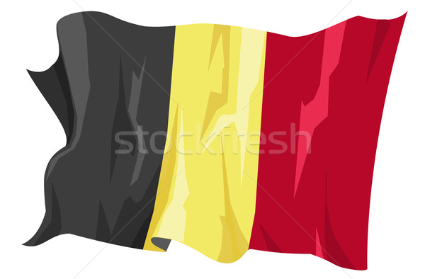 Flag series: Belgium Stock photo © fresh_7266481