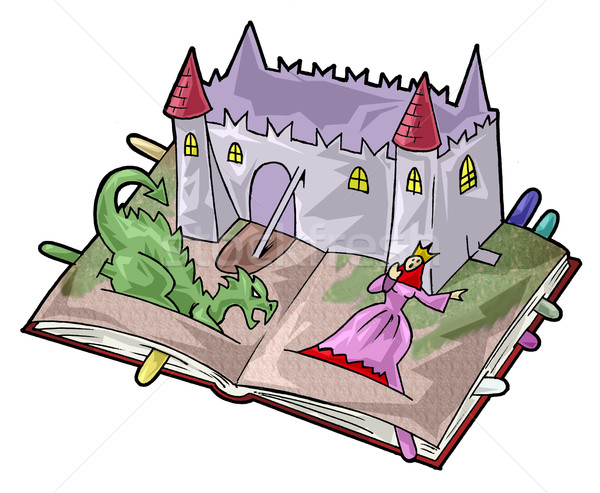 A fairy-tale book Stock photo © fresh_7266481