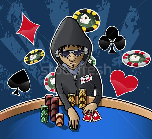 Poker face Stock photo © fresh_7266481