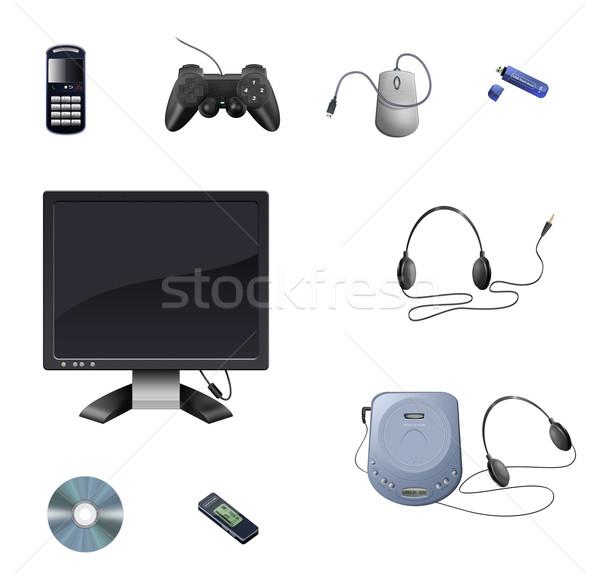Technology objects Stock photo © fresh_7266481