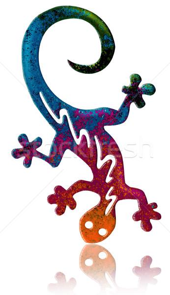 ファンタジー 芸術的 バージョン カラフル 水 自然 ストックフォト © fresh_7266481