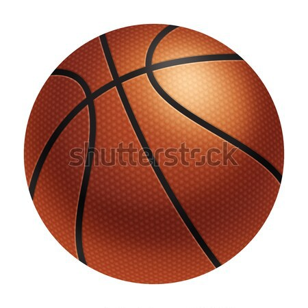 Realistic basketball Stock photo © fresh_7266481