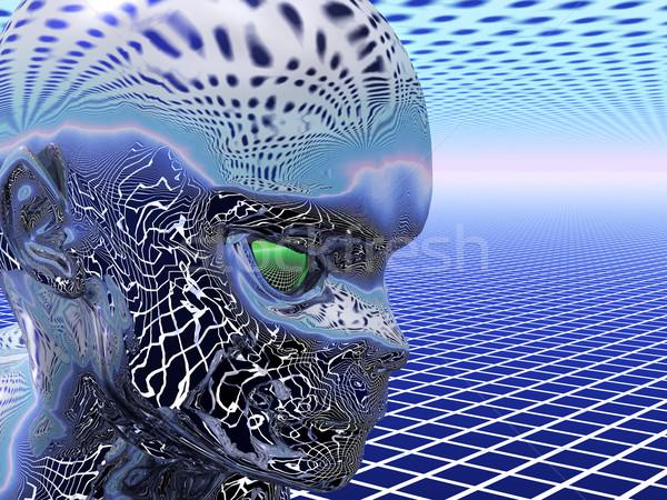 Alien face Stock photo © Freshdmedia