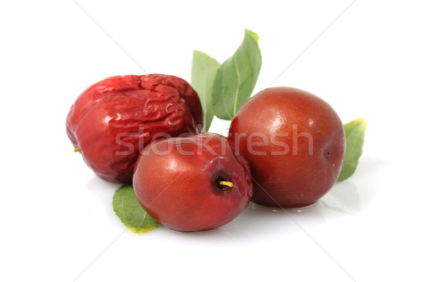 Rouge date fruits dates texture alimentaire Photo stock © Freshdmedia