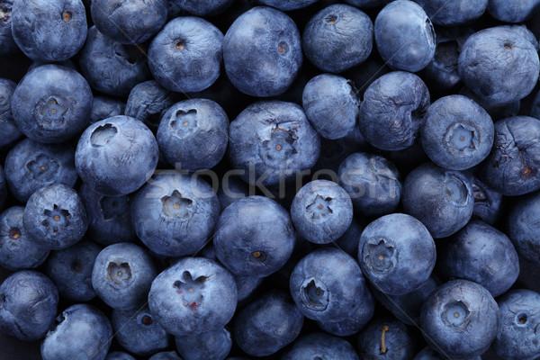 Bleuets organique élevé résolution bleu couleur Photo stock © Freshdmedia