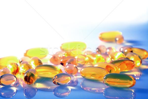 Pills and Capsules Stock photo © Freshdmedia