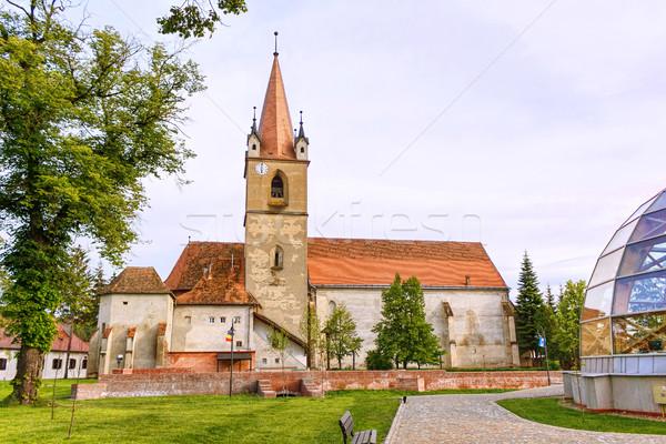 Hungarian catholic church Stock photo © frimufilms