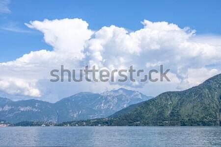 Güzel görmek mavi deniz yeşil Stok fotoğraf © frimufilms