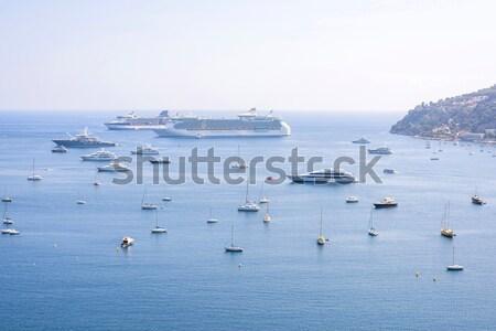 Stockfoto: Mooie · daglicht · boten · schepen · water