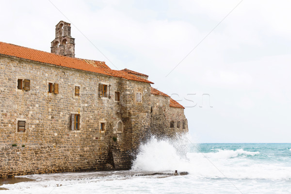 The view of budva old town Stock photo © frimufilms