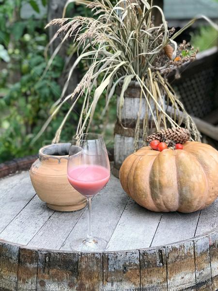 Ver morango abóbora secas Foto stock © frimufilms