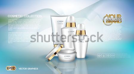 Exquisite cosmetic ads template Stock photo © frimufilms