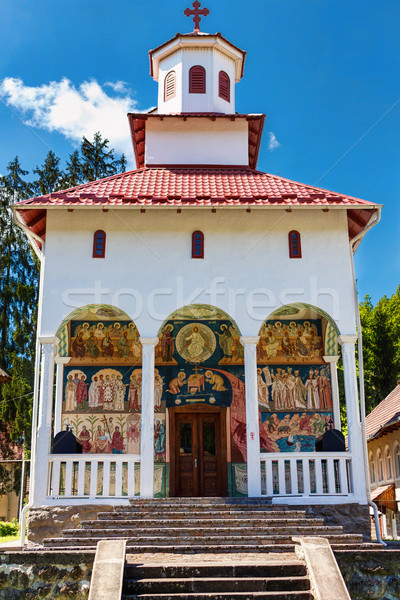 Dormition of the Virgin, Romanian Orthodox Church Stock photo © frimufilms