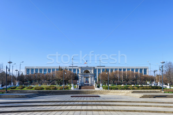 Victory triumphal arch Stock photo © frimufilms