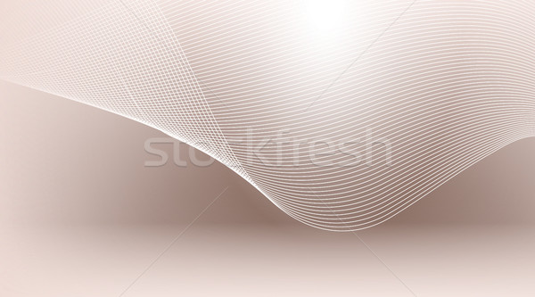 Digitale vector abstract lege bruin witte Stockfoto © frimufilms