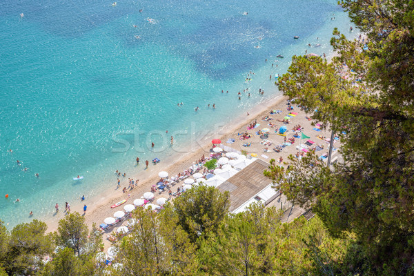 View of luxury resort villefranche sur mer Stock photo © frimufilms
