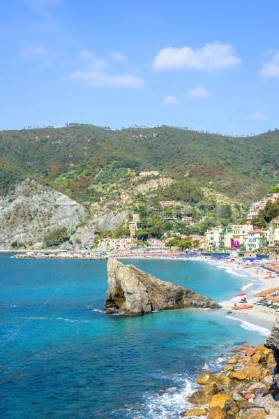 Ver azul mar verde Foto stock © frimufilms