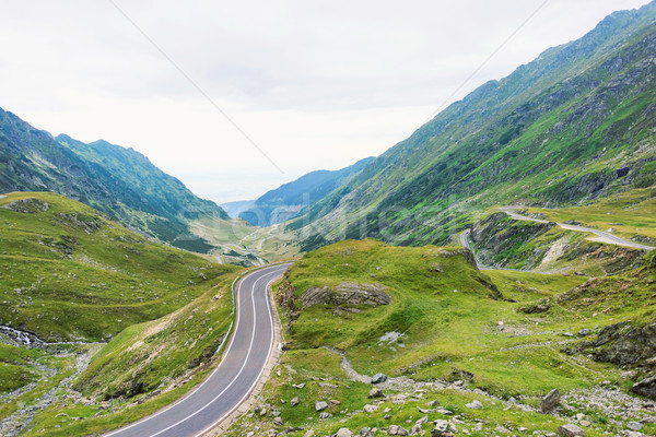 Photo of famous winding road Stock photo © frimufilms