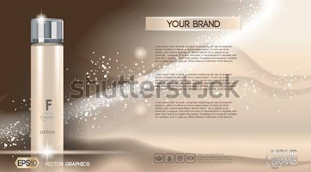 Glamorous foundation ads Stock photo © frimufilms
