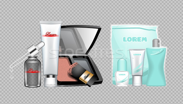Digital vector skin care cream Stock photo © frimufilms