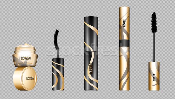 Digital vector eye care cream Stock photo © frimufilms