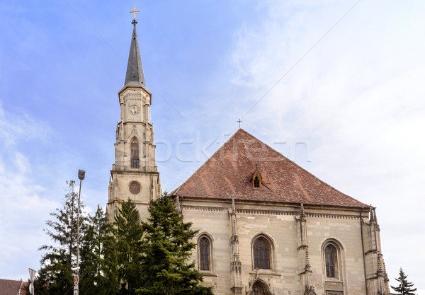 The church of saint michael a gothic style Stock photo © frimufilms