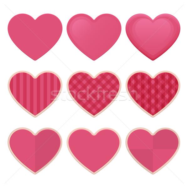 Stock photo: Hearts