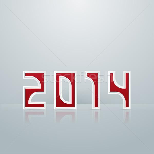 New Year. Figures Fifth Option Stock photo © frostyara