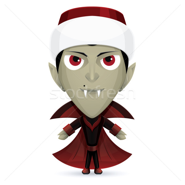Santa Dracula Stock photo © frostyara