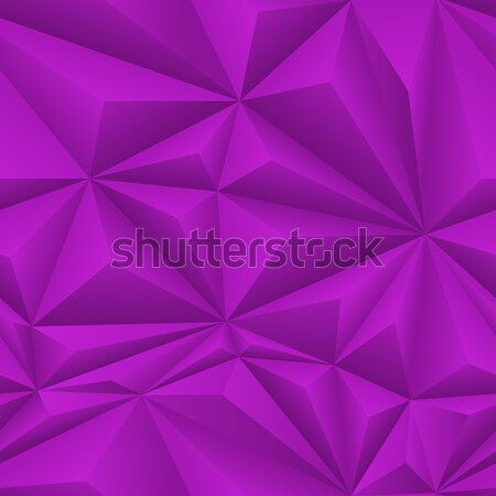 Purple Abstract Polygon Background Tile Stock photo © frostyara