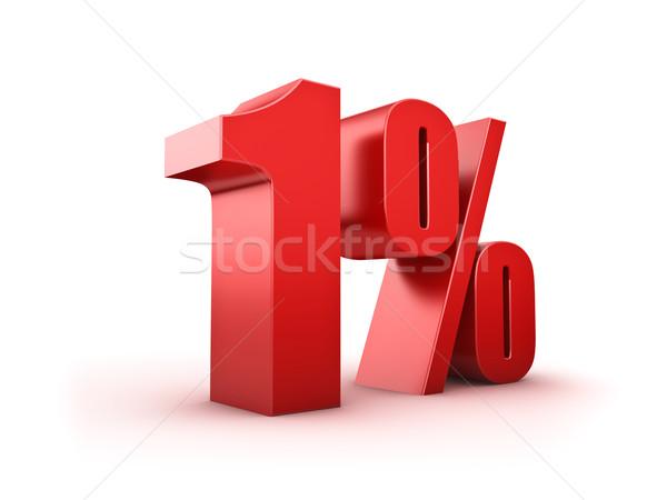 1 percent Stock photo © froxx