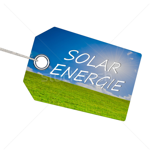 Solar energy Stock photo © froxx
