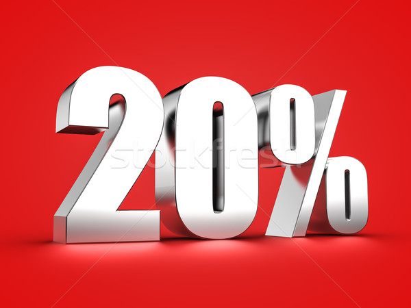 20 percent sign Stock photo © froxx