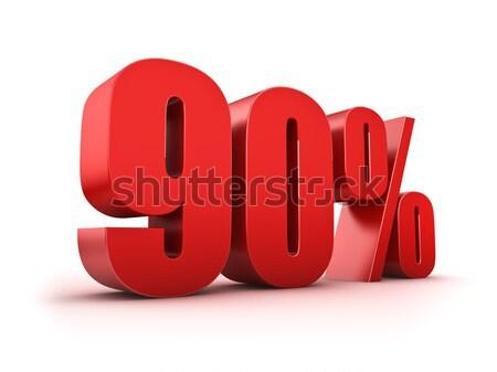 90 percent Stock photo © froxx