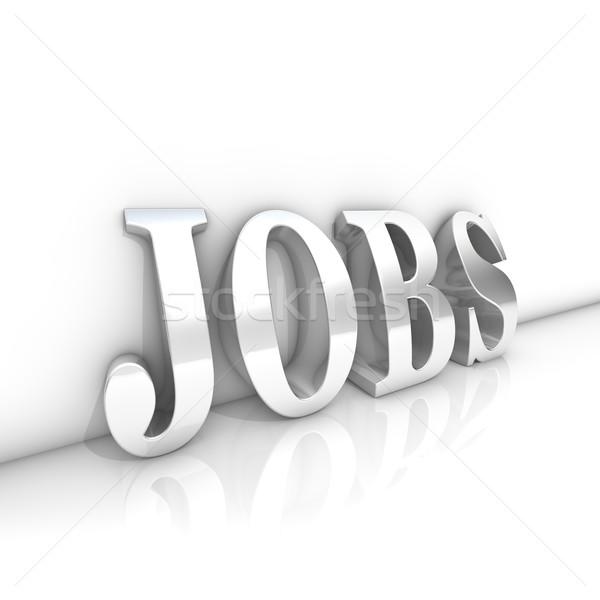 Offerte di lavoro testo stanza business lavoro Foto d'archivio © froxx