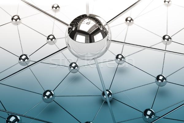 Stock photo: network