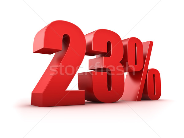 23 percent Stock photo © froxx